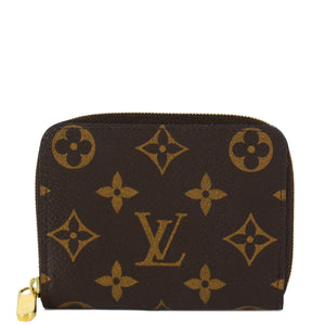 LOUIS VUITTON Monogram Zippy Coin Purse Wallet