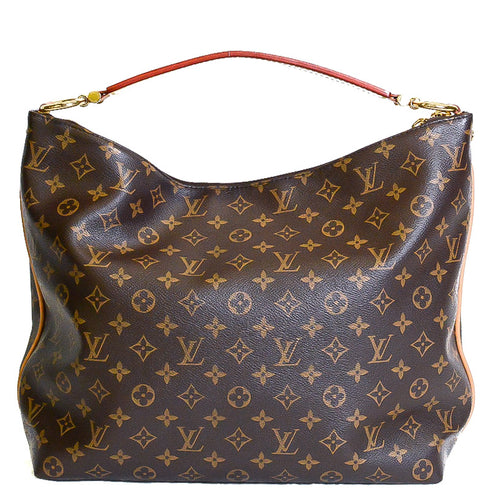 LOUIS VUITTON Monogram Sully MM Canvas Shoulder Bag
