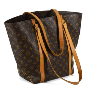 LOUIS VUITTON Monogram Shopping Sac Tote