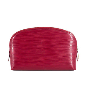LOUIS VUITTON EPI Leather Cosmetic Pouch