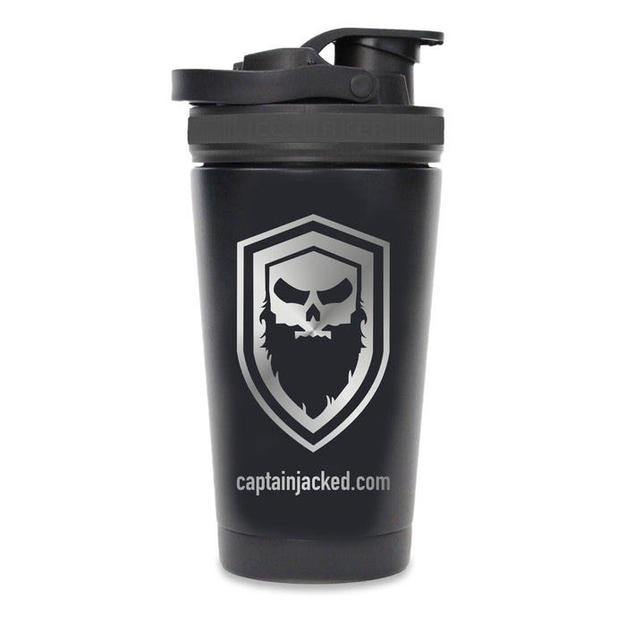 Captain Jacked 16 oz. Insulated Shaker