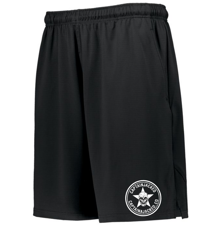 Captain Jacked Team Black Training Shorts