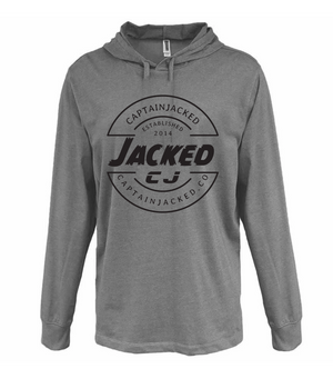 Captain Jacked Heather Jersey Hoodie