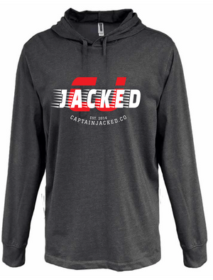 Captain Jacked CJ Heather Jersey Hoodie