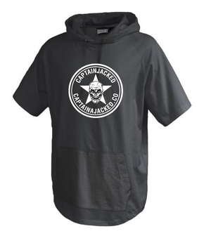 Captain Jacked Short Sleeve Trainer Hoodie