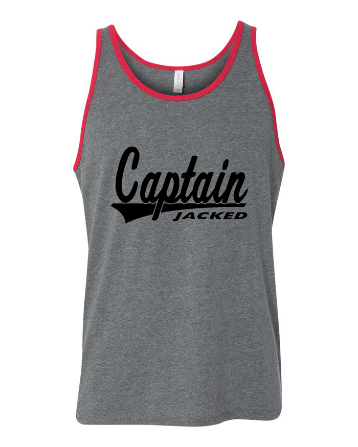 Captain Jacked Tank Top