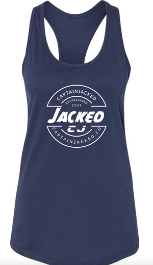 Women's Captain Jacked Perfect Racer Back Tank
