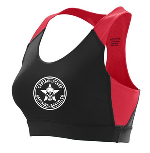 Women's Captain Jacked Sports Bra