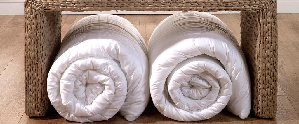 Lightweight vs heavyweight duvets