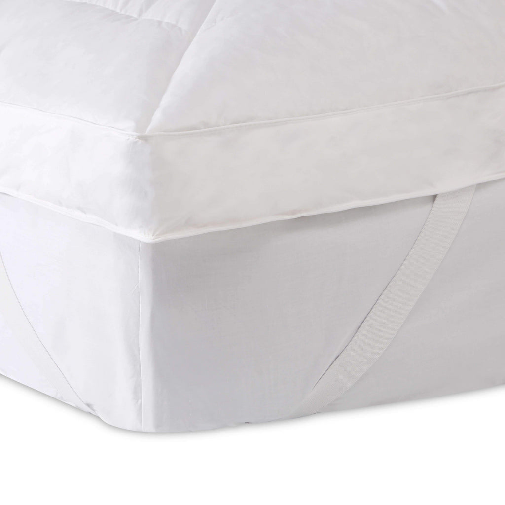 Bronze Goose Down Single Mattress Topper