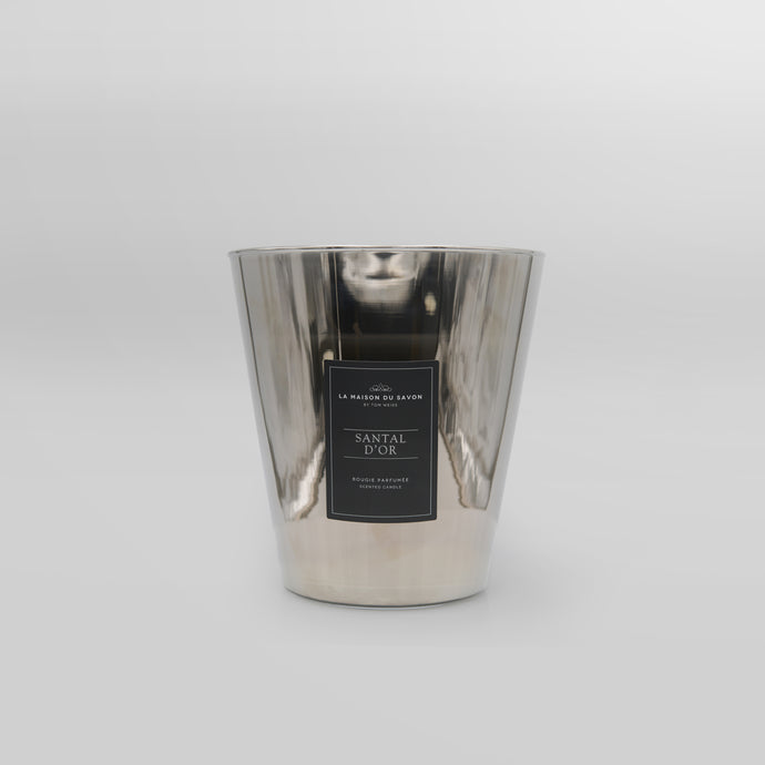 Santal D'Or Silver Candle