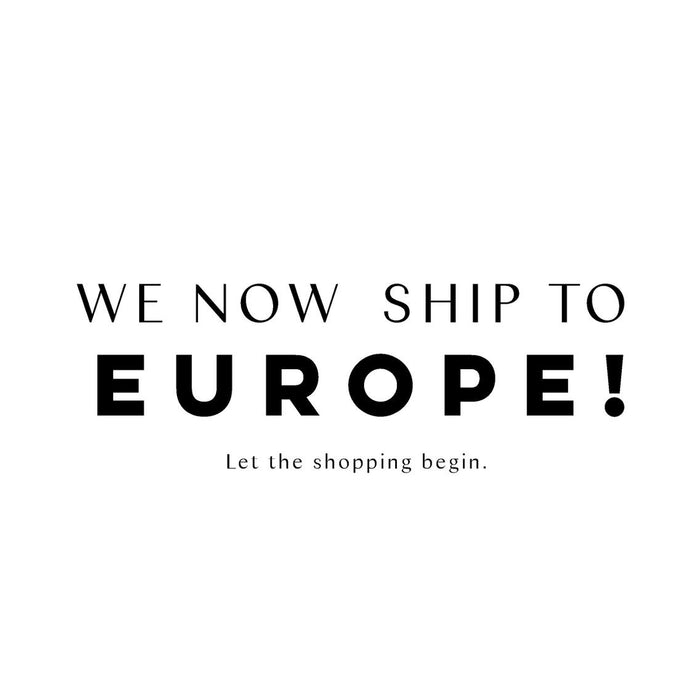 Europe wide delivery in 3-7 days