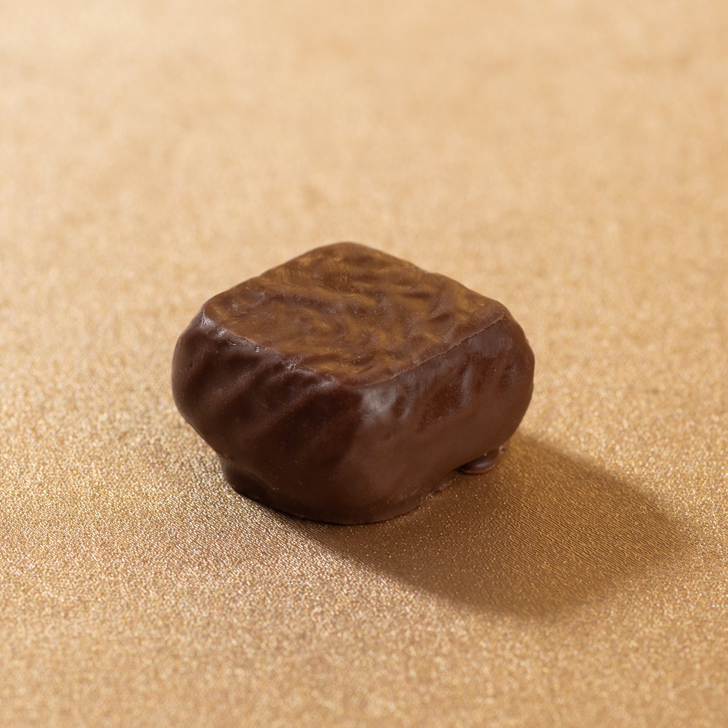 Mini square - Ganache orange (120g)