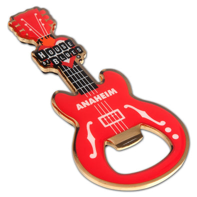 Guitar Bottle Opener Magnet