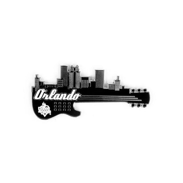 Guitar Skyline Magnet