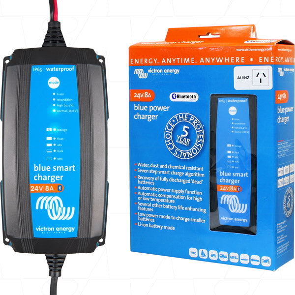 24V 8A Victron Blue Smart Battery Charger