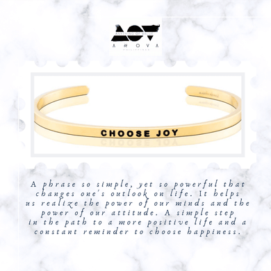 CHOOSE JOY Bangle