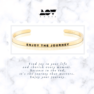 ENJOY THE JOURNEY Bangle
