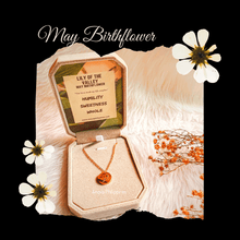 Load image into Gallery viewer, May Birthflower Necklace [Lily of the Valley]
