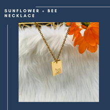 Load image into Gallery viewer, Sunflower + Bee