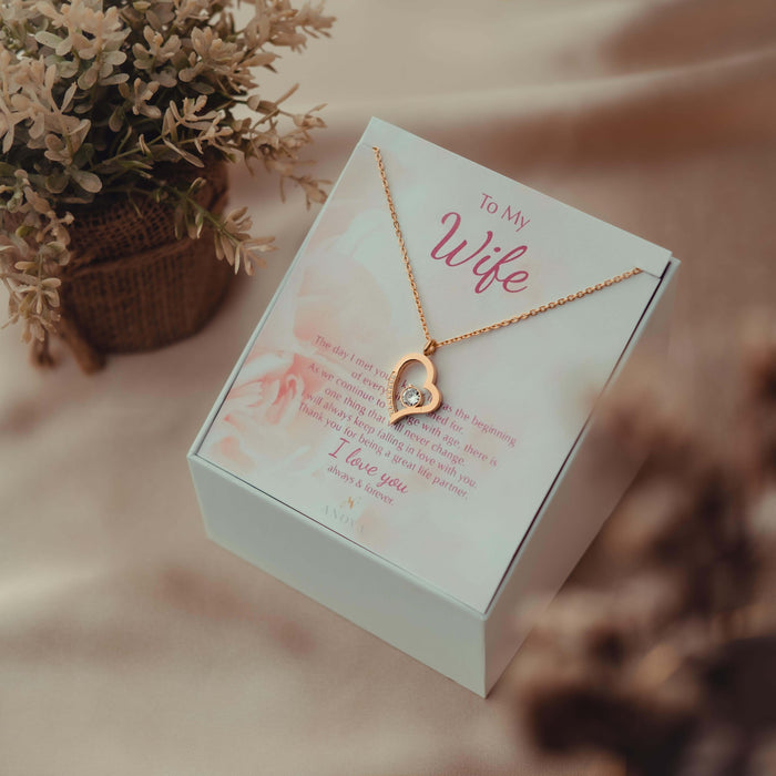 To My Wife Necklace _