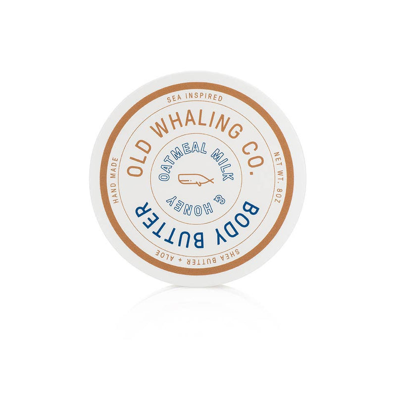 Old Whaling Company - Oatmeal Milk + Honey Body Butter 8oz