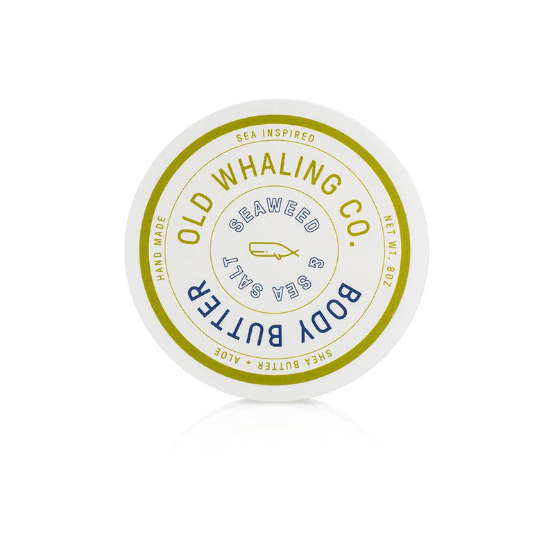 Old Whaling Company - Seaweed + Sea Salt Body Butter 8oz