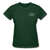 Gildan Ultra Cotton Ladies T-Shirt - forest green