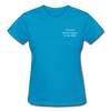 OBX Tee - turquoise