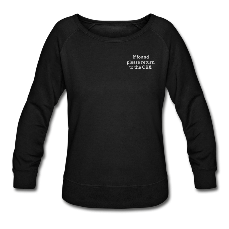 OBX Sweatshirt-Plain Back - black