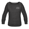 OBX Sweatshirt-Plain Back - heather black