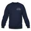 OBX Crewneck Sweatshirt-Plain Back - navy