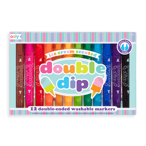 Ooly Scented Doodlers Kids Coloring Gift Set
