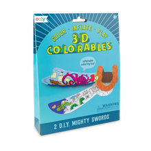 Load image into Gallery viewer, Ooly 3D Colorables - Mighty Swords