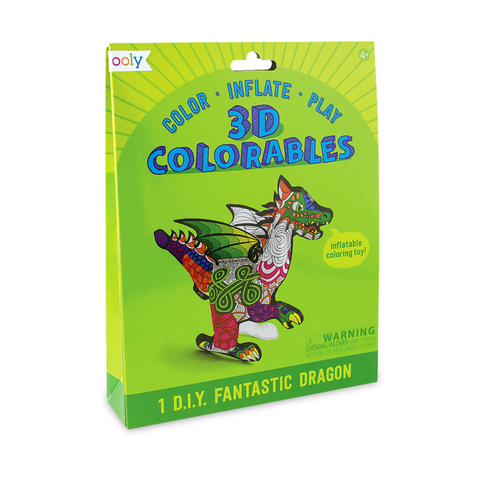 Ooly 3D Colorables - Fantastic Dragon