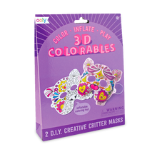 Load image into Gallery viewer, Ooly 3D Colorables - Creative Critter Masks