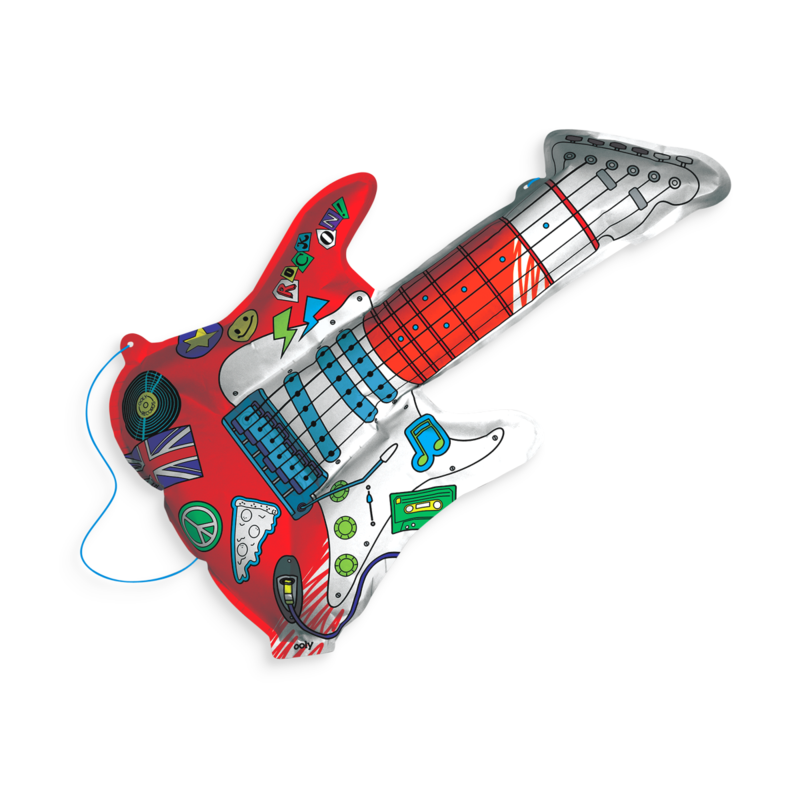 Ooly 3D Colorables - Rockin' Guitar