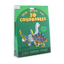 Load image into Gallery viewer, Ooly 3D Colorables - Dinosaur Friends - Set of 2