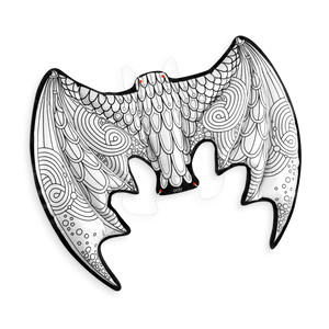Ooly 3D Colorables - Dress Up Dragon Wings Coloring Toys