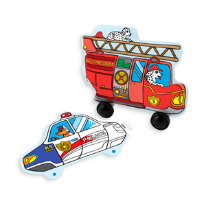 3D Colorables - Rescue Vehicles Coloring Toy