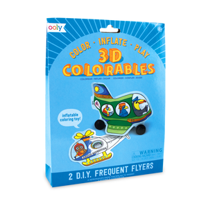 3D Colorables - Frequent Flyers Coloring Toys