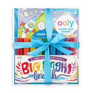 Ooly Big and Bright Outer Space Coloring Giftables Pack