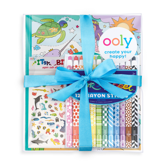 Ooly Outrageous Ocean Appeel Coloring Giftables Pack