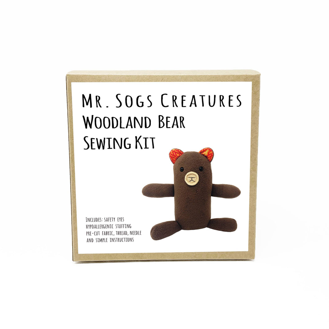 Woodland Creature DIY Sewing Kit