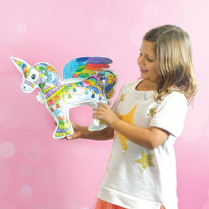 Ooly 3D Colorables  - Magical Unicorn Coloring Toy