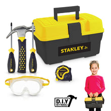 Load image into Gallery viewer, STANLEY Jr Tool Box Plus Set