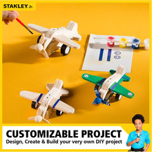Load image into Gallery viewer, STANLEY Jr Pull-Back Airplane Kit