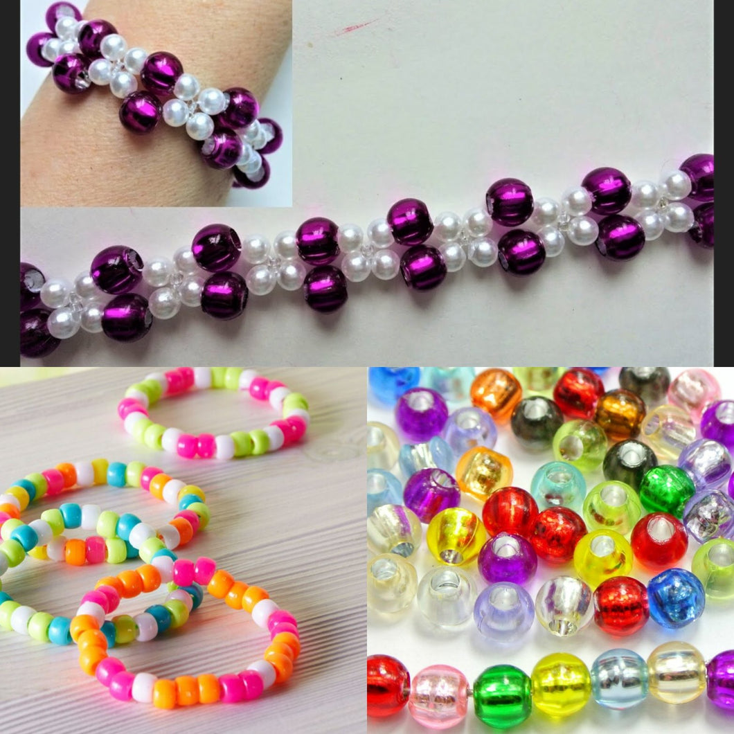 Kids' Beaded Bracelet Class: Saturday, March 7th: 12-1pm