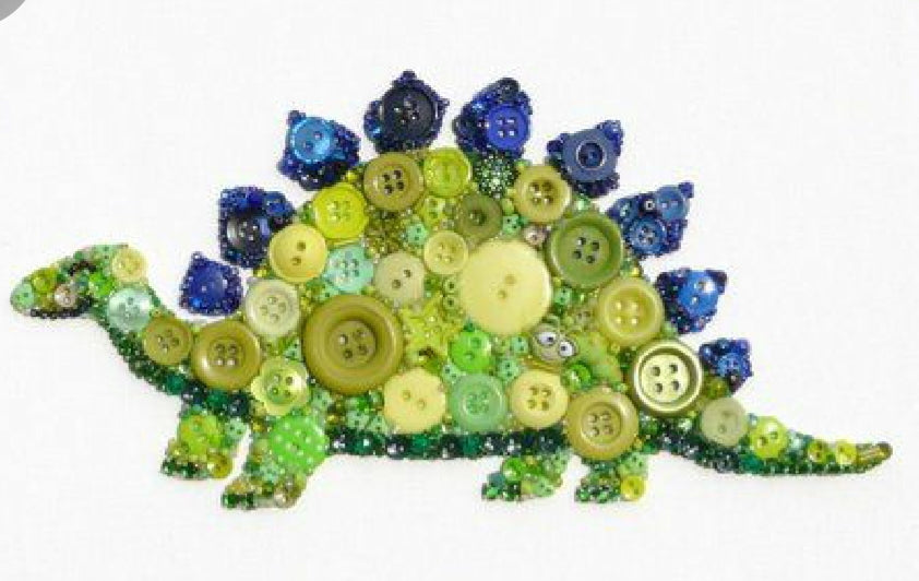 Button Art Class: Sunday, March 15th: 3-5pm