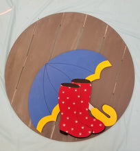 Load image into Gallery viewer, Umbrella Door Hanger Workshop: Wednesday April 8 from 7-9 PM
